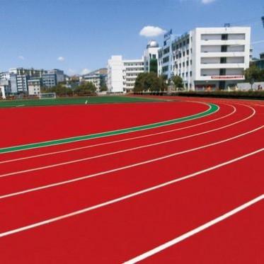 精工建材廠家定制體育環保塑膠跑道,透氣型塑膠跑道